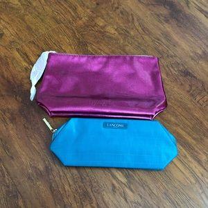 Lancôme cosmetic bags set of 2